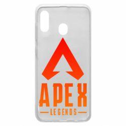 Чохол для Samsung A20 Apex legends gradient logo