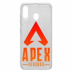 Чохол для Samsung A30 Apex legends gradient logo