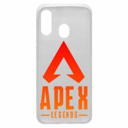 Чохол для Samsung A40 Apex legends gradient logo