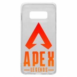 Чохол для Samsung S10e Apex legends gradient logo
