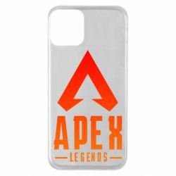 Чохол для iPhone 11 Apex legends gradient logo