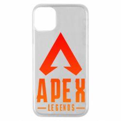 Чохол для iPhone 11 Pro Apex legends gradient logo