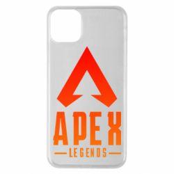 Чохол для iPhone 11 Pro Max Apex legends gradient logo
