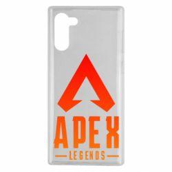 Чохол для Samsung Note 10 Apex legends gradient logo