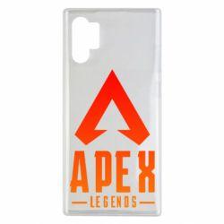 Чохол для Samsung Note 10 Plus Apex legends gradient logo