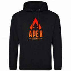Чоловіча толстовка Apex legends gradient logo
