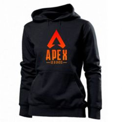 Толстовка жіноча Apex legends gradient logo