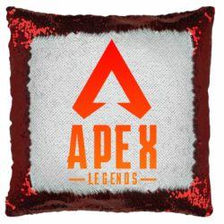 Подушка-хамелеон Apex legends gradient logo