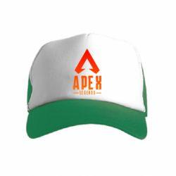 Дитяча кепка-тракер Apex legends gradient logo