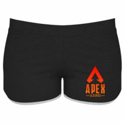 Жіночі шорти Apex legends gradient logo