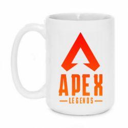Кружка 420ml Apex legends gradient logo