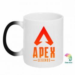Кружка-хамелеон Apex legends gradient logo