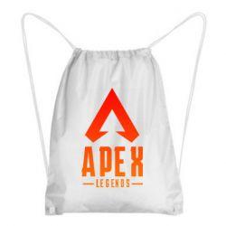Рюкзак-мішок Apex legends gradient logo