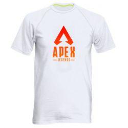 Чоловіча спортивна футболка Apex legends gradient logo