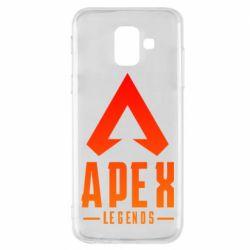Чохол для Samsung A6 2018 Apex legends gradient logo