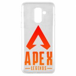 Чохол для Samsung A6+ 2018 Apex legends gradient logo