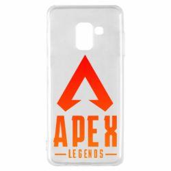 Чохол для Samsung A8 2018 Apex legends gradient logo