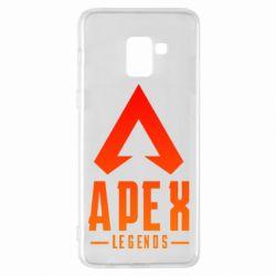 Чохол для Samsung A8+ 2018 Apex legends gradient logo