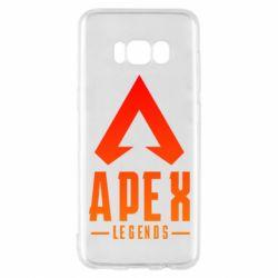 Чохол для Samsung S8 Apex legends gradient logo