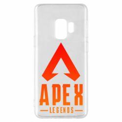 Чохол для Samsung S9 Apex legends gradient logo