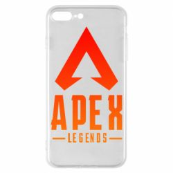 Чохол для iPhone 8 Plus Apex legends gradient logo
