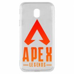 Чохол для Samsung J3 2017 Apex legends gradient logo