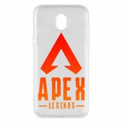 Чохол для Samsung J5 2017 Apex legends gradient logo