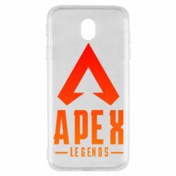 Чохол для Samsung J7 2017 Apex legends gradient logo