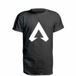 Удлиненная футболка Apex legends logotype