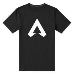 Мужская стрейчевая футболка Apex legends logotype
