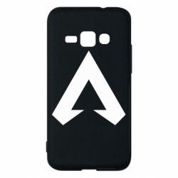 Чехол для Samsung J1 2016 Apex legends logotype