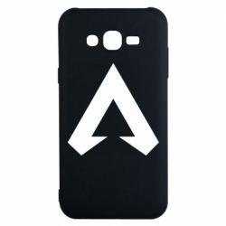 Чехол для Samsung J7 2015 Apex legends logotype