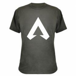 Камуфляжная футболка Apex legends logotype