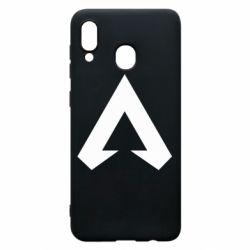 Чехол для Samsung A20 Apex legends logotype