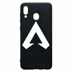 Чехол для Samsung A30 Apex legends logotype