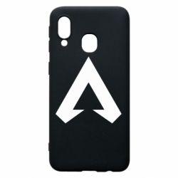 Чехол для Samsung A40 Apex legends logotype