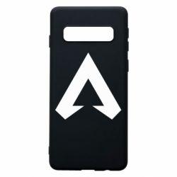 Чехол для Samsung S10 Apex legends logotype