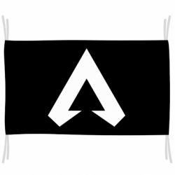 Флаг Apex legends logotype