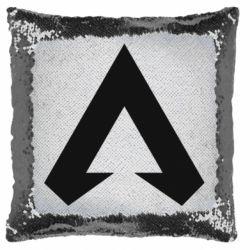 Подушка-хамелеон Apex legends logotype
