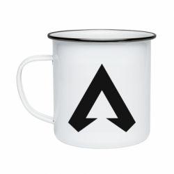 Кружка эмалированная Apex legends logotype