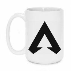 Кружка 420ml Apex legends logotype