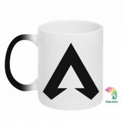 Кружка-хамелеон Apex legends logotype