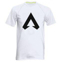 Мужская спортивная футболка Apex legends logotype