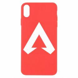 Чехол для iPhone X/Xs Apex legends logotype