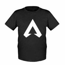 Детская футболка Apex legends logotype
