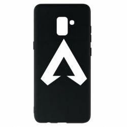 Чехол для Samsung A8+ 2018 Apex legends logotype