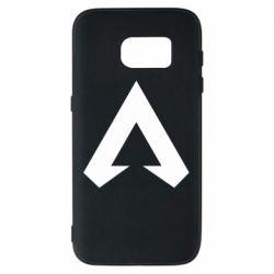 Чехол для Samsung S7 Apex legends logotype