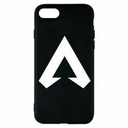 Чехол для iPhone 8 Apex legends logotype