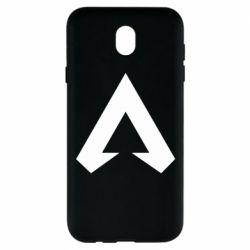 Чехол для Samsung J7 2017 Apex legends logotype