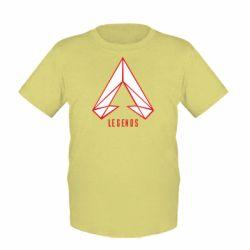 Дитяча футболка Apex legends low poly